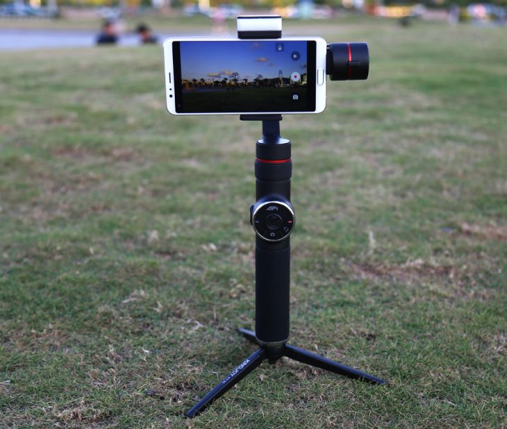 872fcb9c180 AFI V5 Auto Object Tracking Monopood Selfie-stick 3-axis pihuarvuti Gimbal  kaamera nutitelefoni